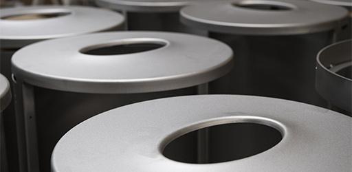 Pulverlakering af stål